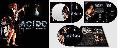 AC/DC - Live In Nashville, August 8th 1978. New Picture Disc LP + sealed **NEW**