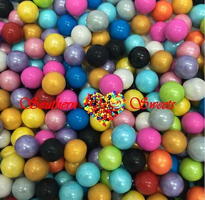 Pearly Mixed Colours Sixlets Candy Balls 750G Rainbow Colourful Lollies