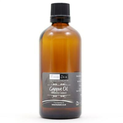 100ml Cajeput Pure Essential Oil - 100% Pure, Certified & Natural - Aromatherapy