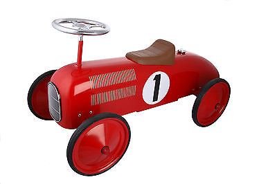 Great Gizmos - Red Classic Children's Racer Ride On Race Car (1+ Years)