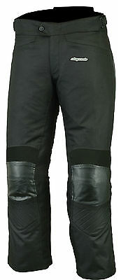 RKsports 445 Motorcycle motorbike Black Trouser  with CE armour Cordura