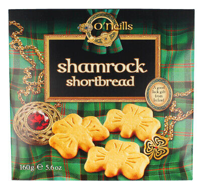 O'Neill's Shamrock Shaped Shortbread 160G