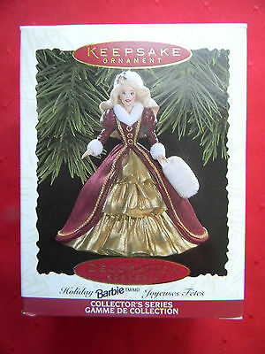 Hallmark Keepsake Ornament Holiday Barbie Collector's Series, Patricia Andrews