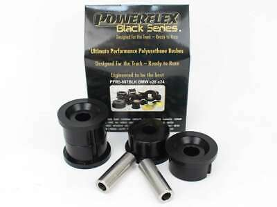 2 x Powerflex black series PFR5-807BLK Hinterachslager / Tonnenlager BMW e24 e28
