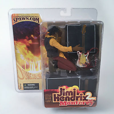 Jimi Hendrix Collectible: 2004 McFarlane (Spawn) JH 2 at Monterey June 18th 1967