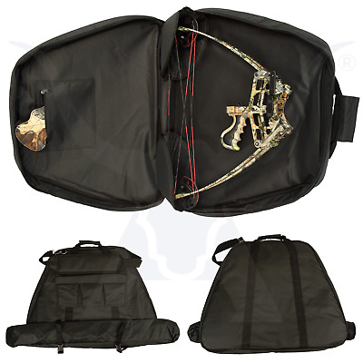 Deluxe Apex Padded Triangle Compound Bow Bag - Black