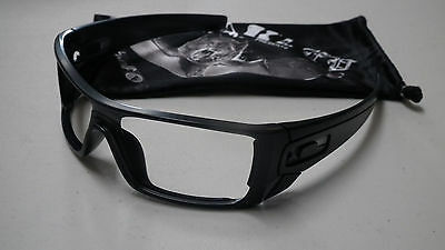 Oakley Batwolf Matte Black Ink Sunglasses Frame & Bag *authentic*