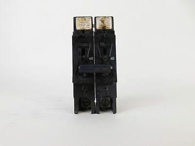 Airpax 2-Pole 40 Amp Circuit Breaker MJ-155