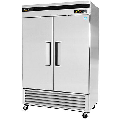 "Turbo Air TSR-49SD Super Deluxe 54"" Double Door Reach-In Refrigerator"