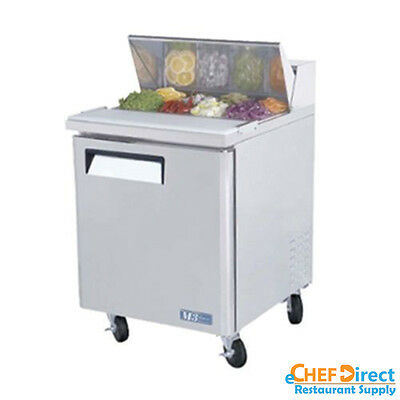 "Turbo Air MST-28-N 28"" Single Door Standard Top Sandwich Prep Table"