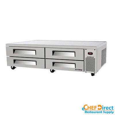 """Turbo Air TCBE-96SDR-N Super Deluxe 96"""" Four  Drawer Chef Base"""