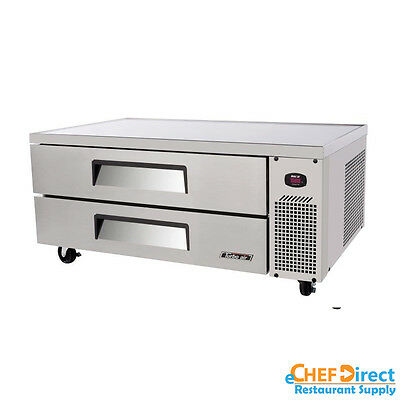"""Turbo Air TCBE-52SDR-N Super Deluxe 52"""" Double Drawer Chef Base"""