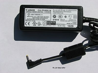 Genuine Canon AC Power Adapter for Canon Powershot