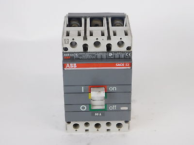 ABB 3-Pole, 80 Amp, 600V Circuit Breaker XR-2063