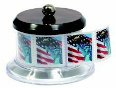 Postage Stamp Holder Dispenser, Holds Full Roll Of 100 Usps Stamps, New