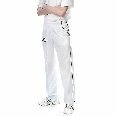 OnlyCricket Playing Kit Whites Flannels Lightweight Match Trouser Cricket Pants
