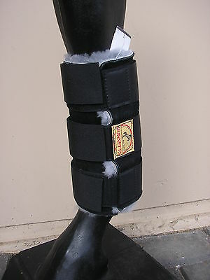 Sheepskin Exercise Paddock Horse Boots Full, Cob or Pony. Various colours *NEW*