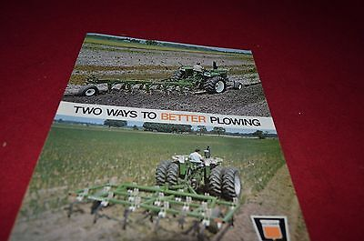 Oliver Tractor Plow For 1971 Dealer's Brochure YABE8