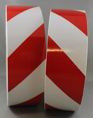 3M Red/White Class 2 (3200 Series) Reflective Tape 50mm x 15m KIT