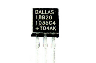 Maxim/Dallas Semi DS18B20 Digital Temperature Sensor TO-92; DS18S20 DS1820 USA