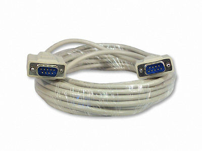 3M Serial RS232 Null Modem Cable Male to Male DB9 FTA DB9F/F AU SELLER