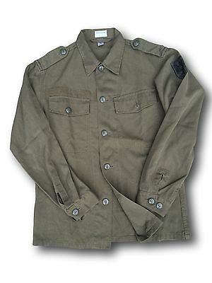 Austrian Army Issue Vintage Mens Field Shirt