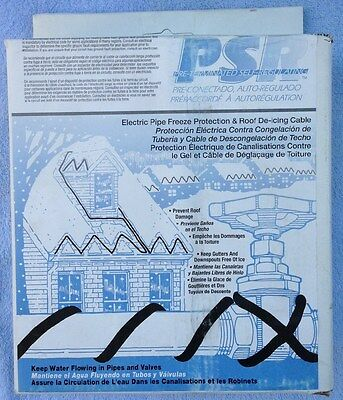 Psr1006 Easyheat Cables For Roofs,gutters & Waterpipes