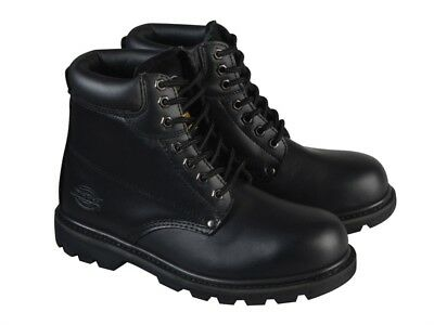Dickies DICCLEVE11BL Cleveland Black Super Safety Boots UK 11 Euro 46