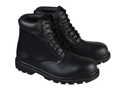 Dickies DICCLEVE8BL Cleveland Black Super Safety Boots UK 8 Euro 42