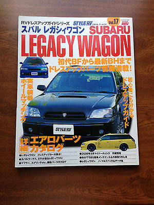 Hyper Rev STYLE RV SUBARU LEGACY TOURING WAGON VOL.17 Tuning and Dress Up Guide
