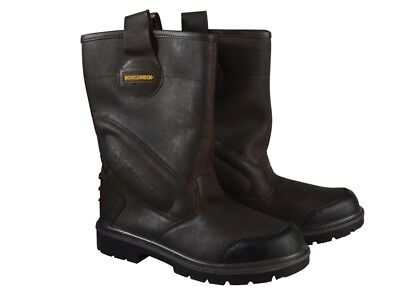 Roughneck Clothing RNKHURR7 Hurricane Rigger Boots Composite Midsole UK 7 Euro 4