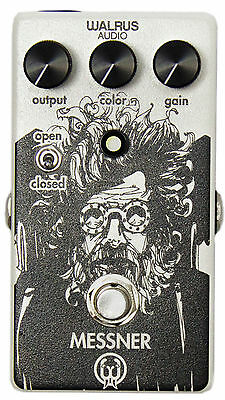 Walrus Audio Messner Overdrive Pedal - Authorized Dealer! Brand New!