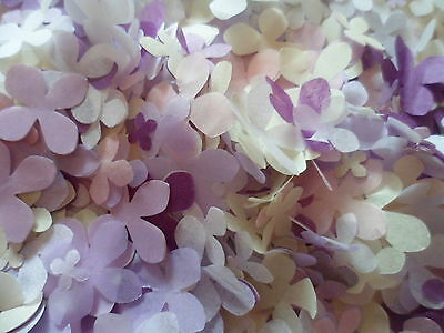 1000+ Purple and Pink Mix Tissue Flower Wedding Confetti/Party/Decoration