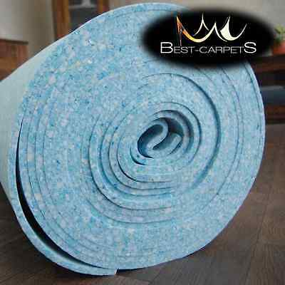 BEST Quality Luxury Foam Carpet Blue Underlay ! softly underfoot thickness 10mm