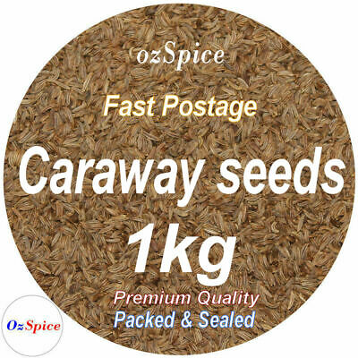 Caraway Seeds 1kg Herbs & Spices Shop4Spice