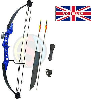 ASD Archery Blue Striker Compound Bow With Arrows & Accessories Child - Adult