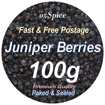 Juniper Berries 100g - Herbs Teas Chillies & Spices - ozSpice