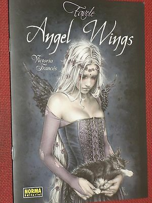 Victoria Frances- Favole Angel Wings-In Spagnolo-Tedesco-Francese-Inglese -Nuovo