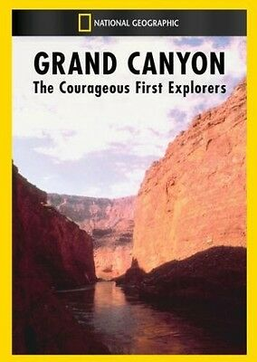 Grand Canyon: The Courageous First Explorers (2014, DVD NUOVO) DVD-R (REGIONE 0)