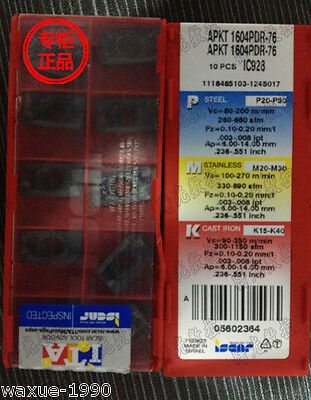 20pcs(2 boxs) NEW Iscar APKT 1604PDR-76 IC928