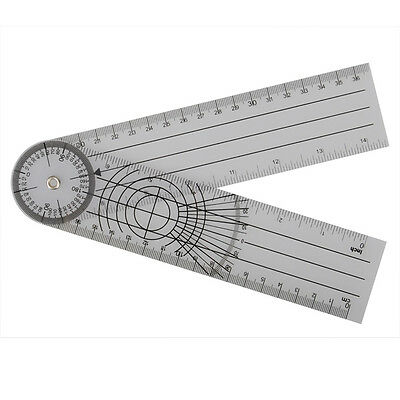 Professional Multi-Ruler 360 Degree Goniometer Angle Medical Spinal Ruler