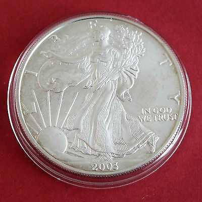 USA 2003 1oz .999 SILVER EAGLE DOLLAR