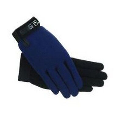 NAVY BLUE SSG All Weather Riding Gloves 8600 Ladies S  Universal  Men's