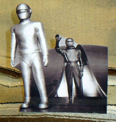1951 The Day the Earth Stood Still Robot Gort B&W Tabletop Display Standee 9""