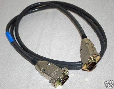 CC315S Cable with AMP DB9 Male to Male 4.5' Long *New