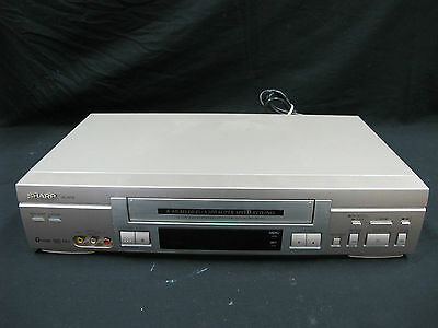 SHARP VC-H710 6 Head HiFi VCR Video Cassette Recorder Tested Working no Remote