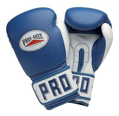 Pro-Box Boxing Padded Waterprrof Leather Training Breathable Mesh Palm Gloves