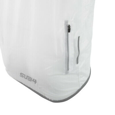 Cycling Sleeveless Rain Jacket - Transparent