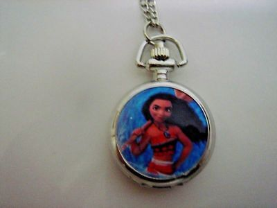 NEW Monster High Girl Child Kids Fashion Pocket Pendant Necklace Watch FREE SHIP