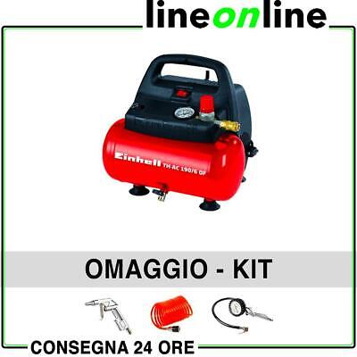Compressore portatile 6 lt EINHELL TH-AC 190/6 OF